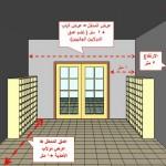 مواصفات مدخل المصلى